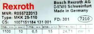 Rexroth Linear-Modul MKK 25-110 Linearführung