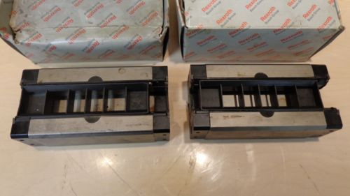 PAIR OF Star / REXROTH Linear Roller Bearing 1623-49X-10 - USED