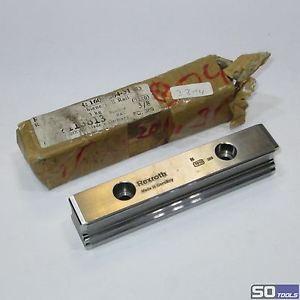 REXROTH 1605-204-31 115 mm Linearschiene Größe 25 Führungsschiene Linearführung