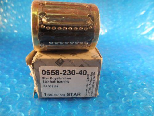 Star, Rexroth 0658-230-40, Compact Linear Bushing