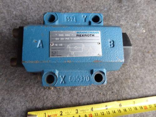 Origin REXROTH HYDRAULIC VALVE SV20PA1-42/V