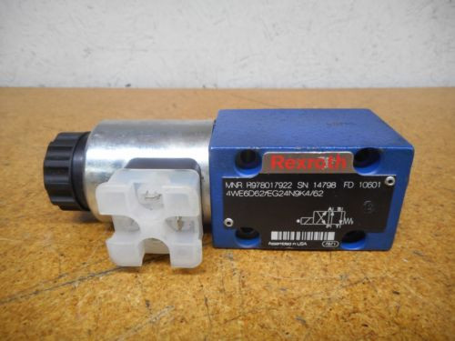 Rexroth R978017922 R900021389 Directional Control Valve Used With Warranty