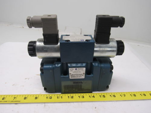 Rexroth 4WEH 10 E42-4X/6EG24N9ETK4/B10 Solenoid Operated Directional Spool Valve