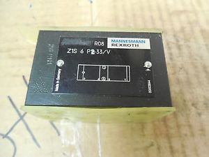Rexroth Mannesmann Manifold Solenoid Block Valve Z1S 6 P2-33/V Z1S6P233V origin
