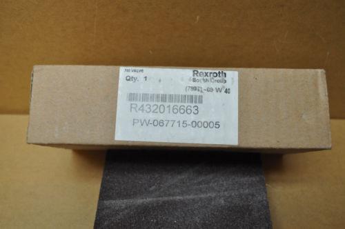 REXROTH R432016663 PNEUMATIC SOLENOID VALVES, 24 VDC Origin IN BOX