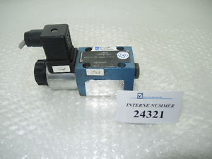 3/2 way valve Rexroth  3WE 6 A60/SG24N9K4, Demag used spare parts