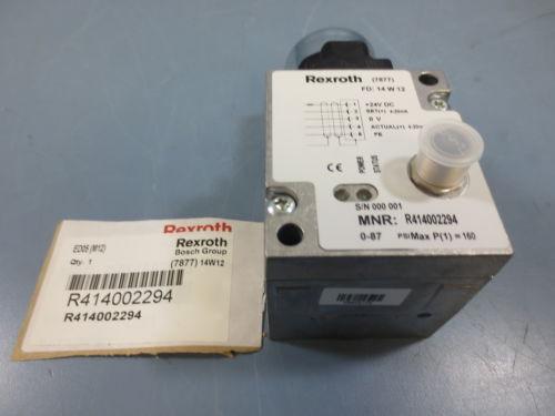 1 origin Rexroth R414002294 Ball Valve Lever Handle Operated 0-87 Psi
