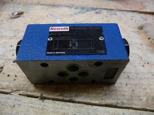 REXROTH Z2S 6-1-64/V HYDRAULIC VALVE R900347504