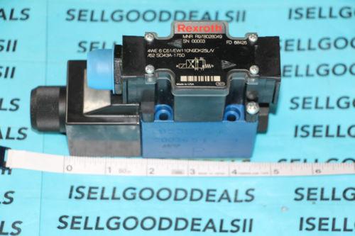 Rexroth R978028049 4WE6C61/EW110N9DK25/V Hydraulic Solenoid Valve 110/120V origin