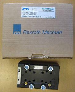 Bosch Rexroth Mecman ISO 2 5/2 Solenoid Spring Valve 581-214-100-0
