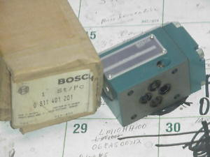 BOSCH REXROTH  0-811-401-201 VALVE BLOCK Origin/BOX