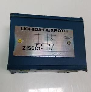UCHIDA-REXROTH HYDRAULIC CHECK VALVE Z1S6C1-31