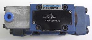 MANNESMANN REXROTH SOLENOID 4WP6D60 VALVE 4WPH10HC40