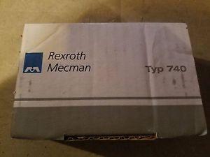 AUTHENTIC-Rexroth-Mecman Typ 740-Origin IN BOX