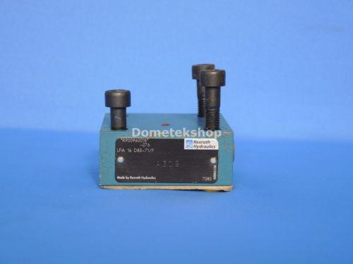 Rexroth LFA 16 D83-71/F origin