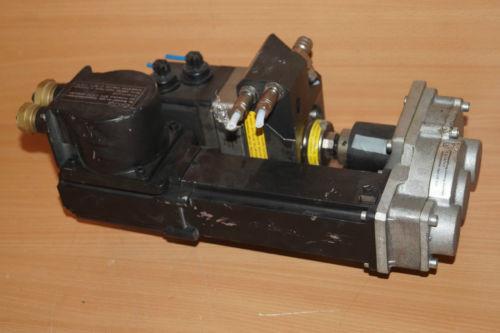 Rexroth Indramat MKE037B-144-GP0-BENN Permanent Magnet Motor + BEHR Dürr Valve