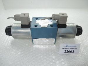 4/3 way valve Ident  10665465, Rexroth  4WE 10 Q32/CG24N9Z4, Demag spares