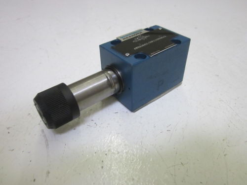 REXROTH 4WE6D60/EW110N9K4 VALVE AS PICTURED USED