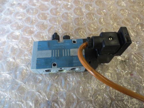 TREE VMC 1000 CNC MACHINE REXROTH PNEUMATIK VALVE 24V 10BAR MAX COIL