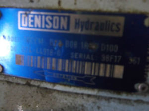 DENISON HYDRAULIC PUMP T 6 CCM