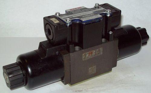 D03 4 Way Shockless Hydraulic Solenoid Valve i/w Vickers DG4V-3-6C-WL-200V 200 V