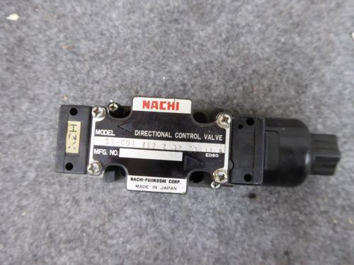 Origin NACHI DIRECTIONAL CONTROL VALVE # SS-C01-H43-R-D2-E9