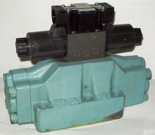 D08 4 Way 4/2 Hydraulic Solenoid Valve i/w Vickers DG5S-8-S-2N-WL-H 24 VDC
