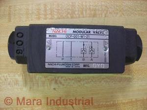 Nachi OCP-G01-W1-21 Modular ValveOCPG01W121 - Used