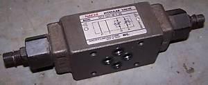 Nachi Modular Valve, OCY-G01-W-Y-20, USED, WARRANTY