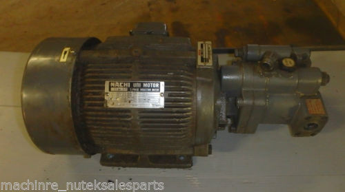 Nachi Piston Pump PVS-1B-19N1-2408F_UPV-1A-19N1-22-4-2408F_LTIS70-NR