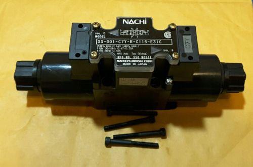 NACHI SS-G01-C7Y-R-C115-E31C  Hydraulic Solenoid Valve