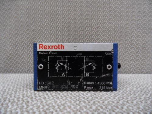 REXROTH 0-811-324-103 HYDRAULIC VALVE BODY