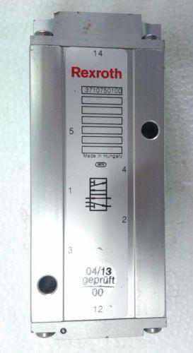 3710750100 REXROTH PNEUMATICS VALVE DIR-CONTROL VALVE 5/2-NW12 Aventics Wabco