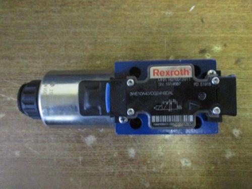 REXROTH DIRECTIONAL VALVE 3WE10A40/CG24N9DAL R900612333 51918 R978912911