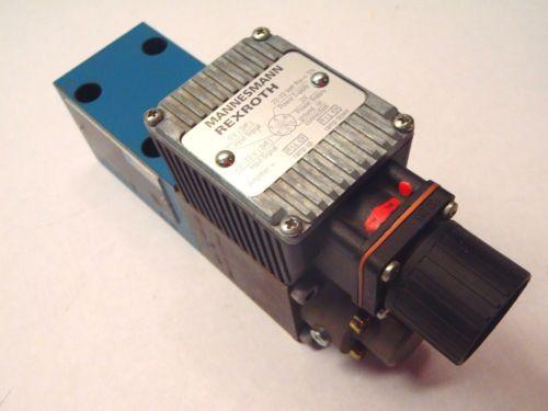 Rexroth DREE 10-52/100YG24NK31M Pressure Reducing Valve