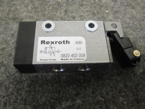 Origin REXROTH MECHANICAL DIRECTIONAL VALVE 3/2 G1/8 ROLLER # 0820402009