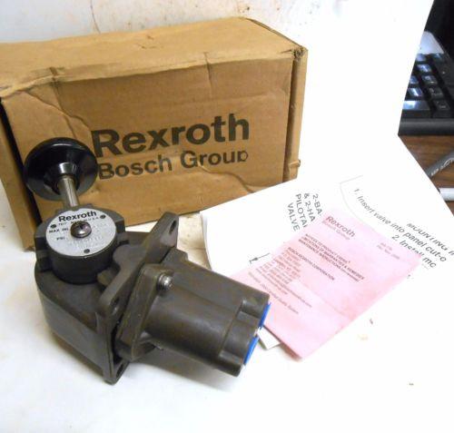 REXROTH, CONTROL AIR VALVE, R431004994, MAX INL 250, 2HA-1