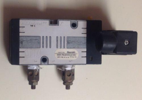 REXROTH PS-031010-01355 120V-AC 1/4 IN NPT PNEUMATIC SOLENOID VALVE