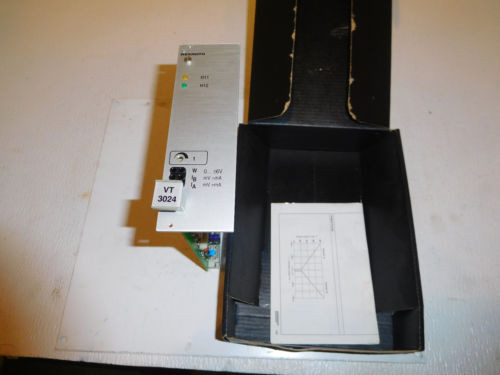 Rexroth VT-3024-36A Hydraulic Proportional Card for Valve