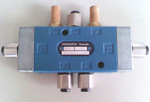 REXROTH WABCO Pneumatic 5 port 4 way 2 position Air Valve 1/8 NPT or 4mm TUBE