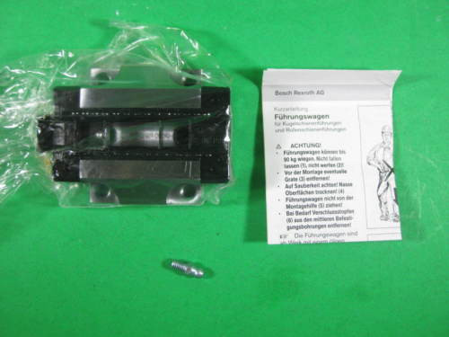 Rexroth Bosch Linear Rail Bearing Block -- R165122420 -- origin