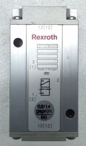 3710760300 3/2-way REXROTH Aventics Wabco Marine Piloted Air Control Valve