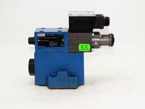 Rexroth Bosch valve ventil DREE 10-52/315YG24NK31M / R900959892    Invoice