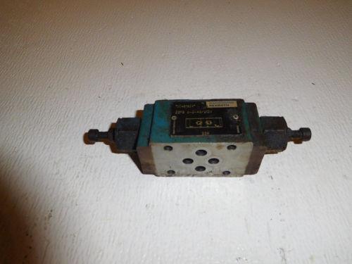 Rexroth D03 Hydraulic Dual Flow Control Valve