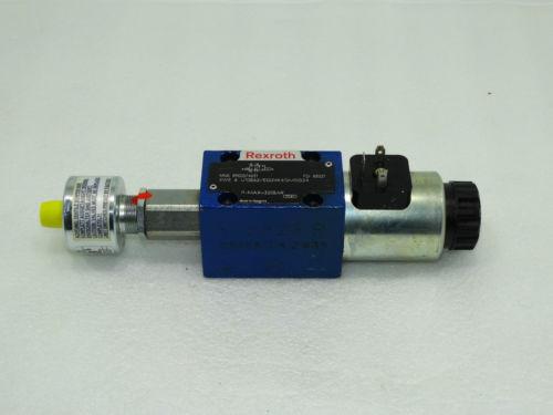 Rexroth Bosch directional spool valve 4WE 6 U10B62/EG24K4QM0G24 / R900574631