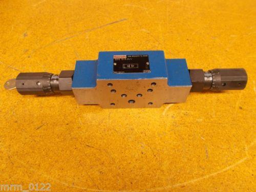 Rexroth R900523737 Z2FS-10-3-31/V Hydraulic Valve Used