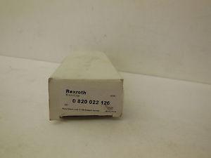 Origin REXROTH 0-820-022-126 SOLENOID VALVE  0820022126