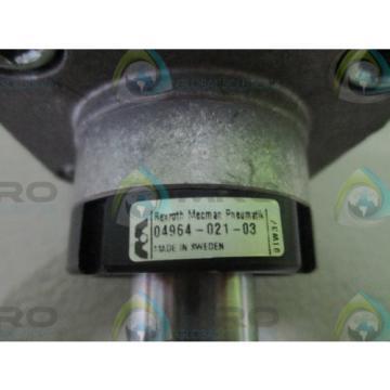 REXROTH 04964-021-03 PNEUMATIC CYLINDER/VALVE Origin NO BOX