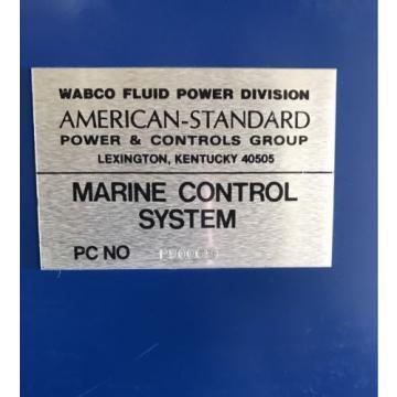 Logic Mexico Australia Master Control Panel- P90068 American Standard/ Wabco / Rexroth