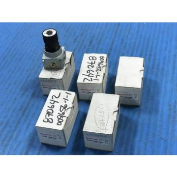 LOT OF 5 Origin REXROTH 5352700100 4-WAY PRESSURE VALVE REGLATOR REG 1/8BSP